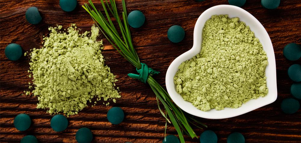 Alga chlorella contra alergias Santiveri