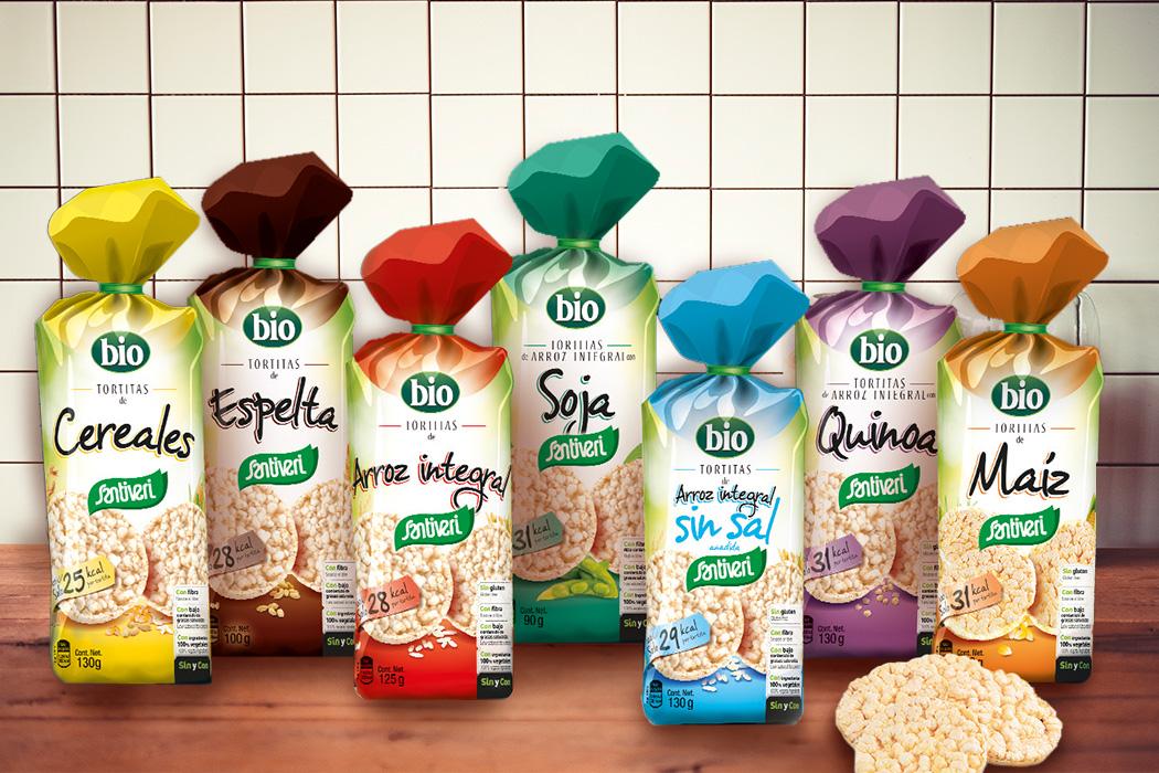 Tortitas de cereales bio Santiveri
