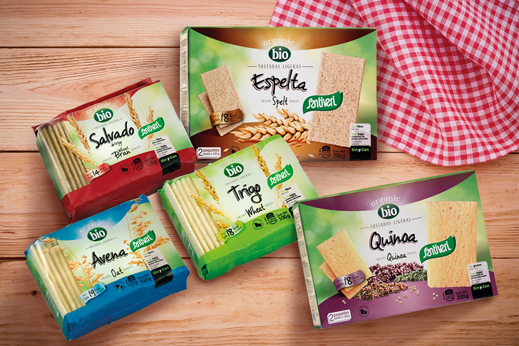 Tostadas de cereales bio Santiveri