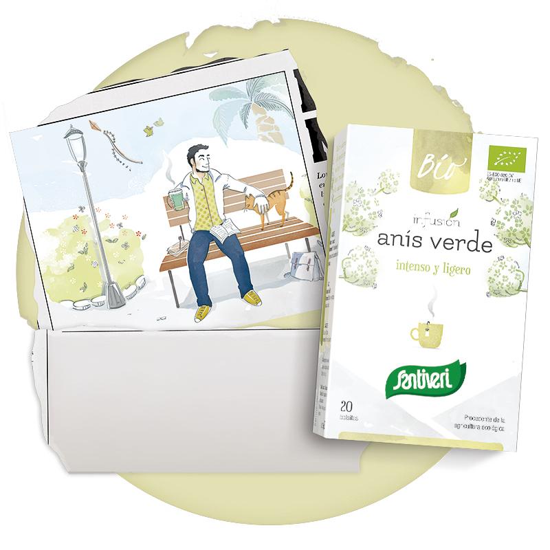 Infusión de Anís Verde Bio Santiveri Sanaflor