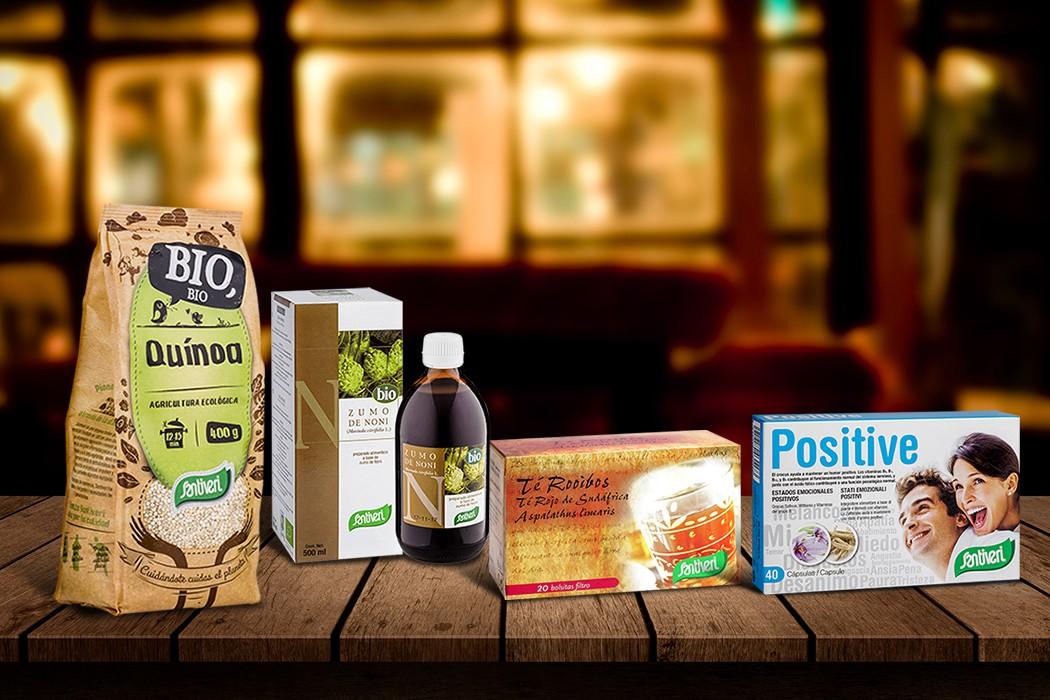 Alimentos de otros mundo: quínoa, chía, withania, noni