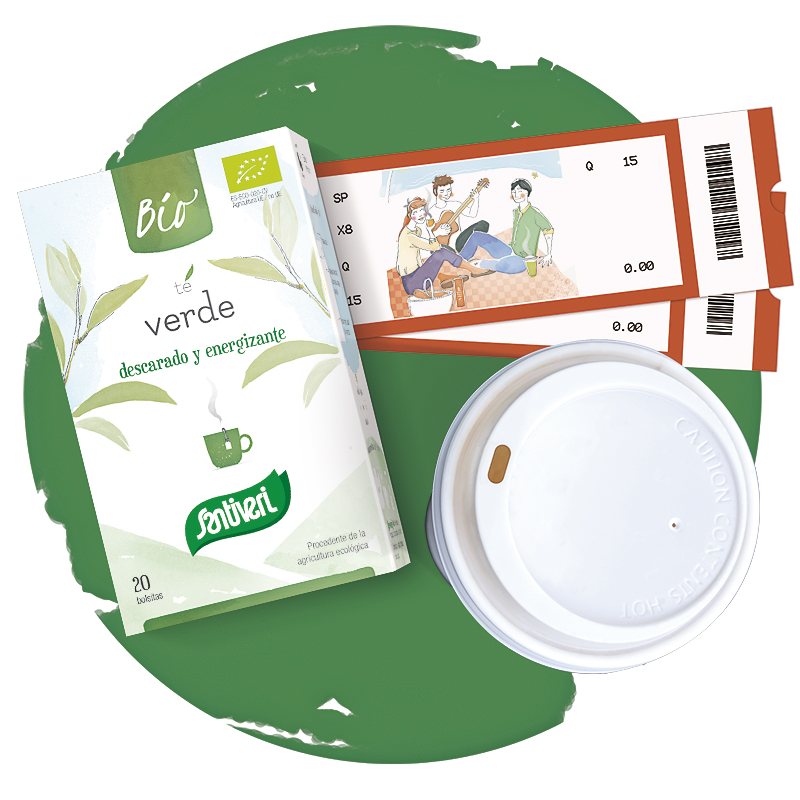 Té verde bio Santiveri Sanaflor