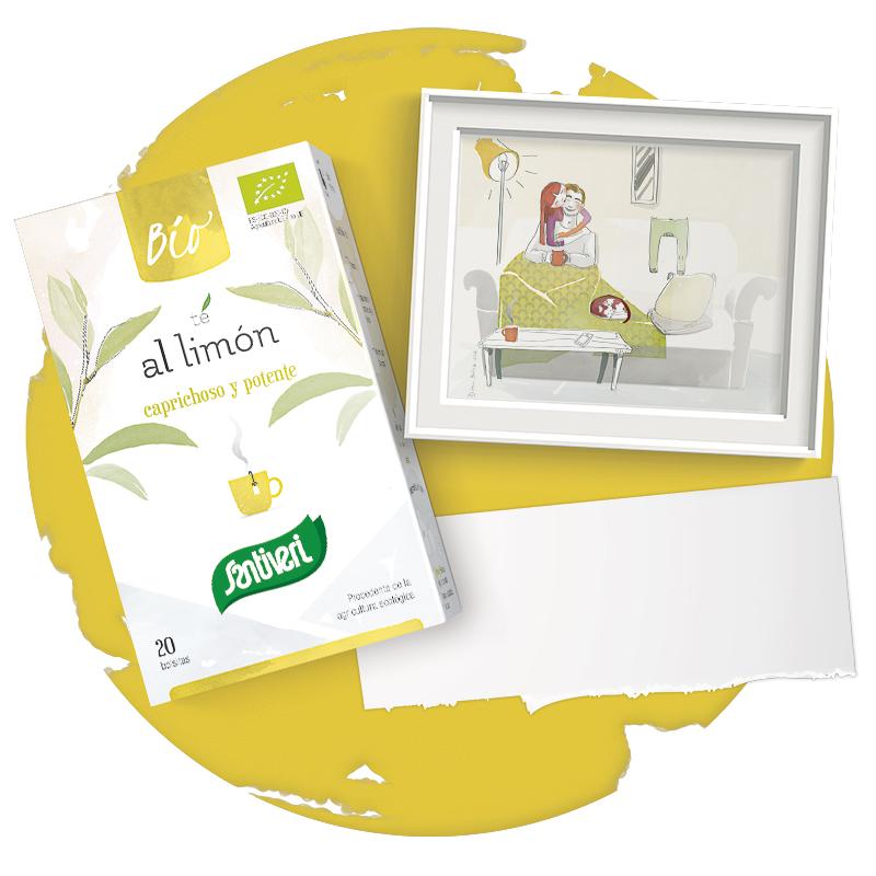 Té al limón bio Santiveri Sanaflor