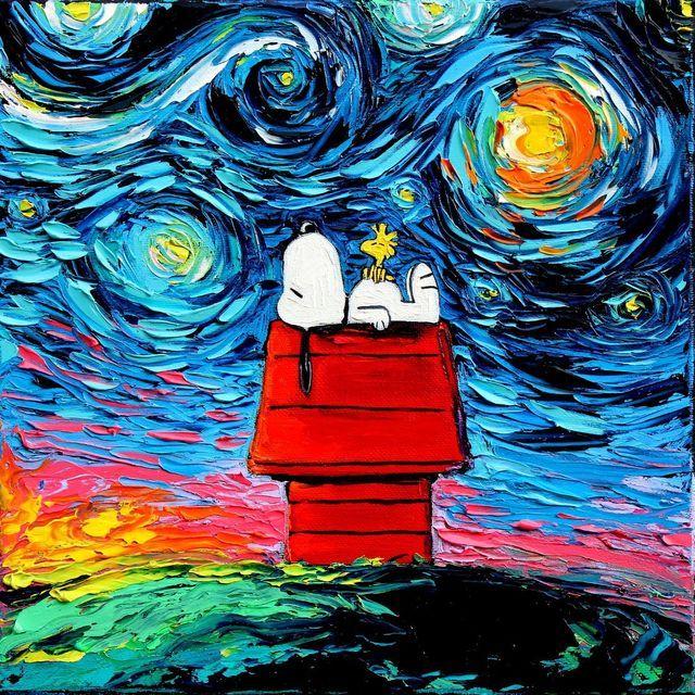 Snoopy Blue Monday