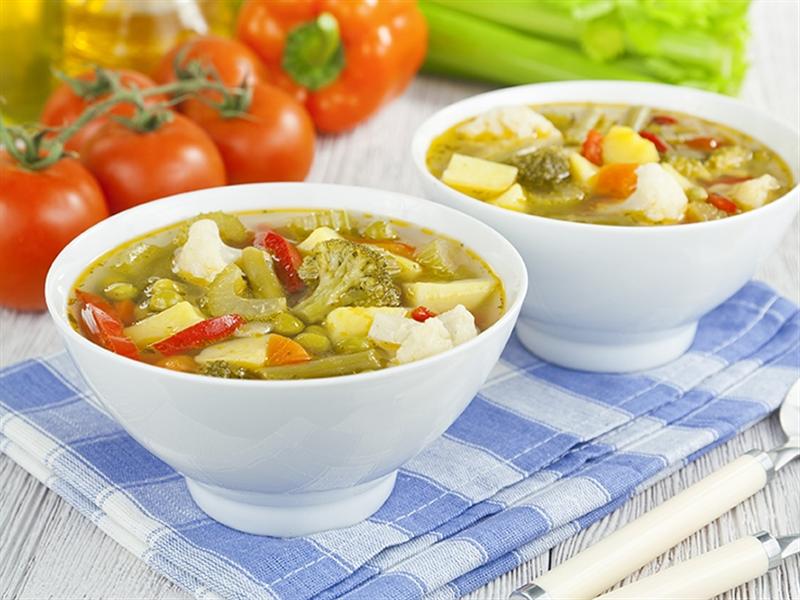 Receta invierno Sopa de verduras de invierno - Minestra invernale di verdure