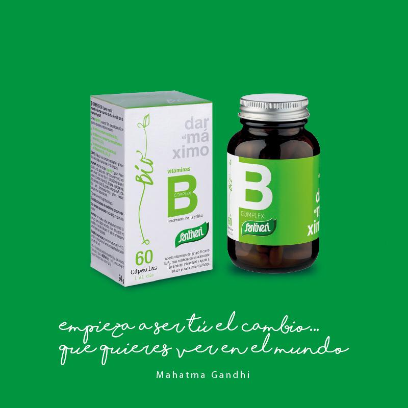 Vitaminas Bio Grupo B Santiveri