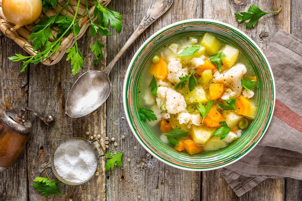 Receta de Menestra de verduras de invierno