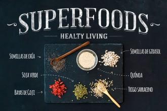 Chía y trigo sarraceno semillas con alto poder nutricional