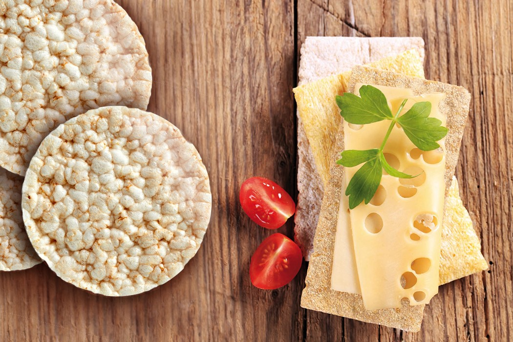 Tortitas y tostadas bio Santiveri snack