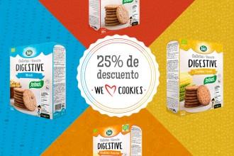 25% de descuento galletas
