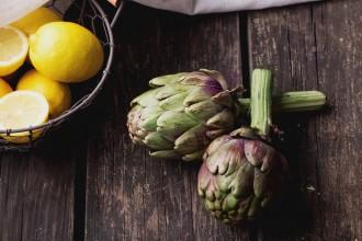Carciofo e limone: due piante che giovano al fegato