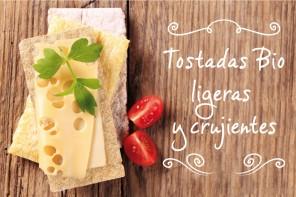 Tostadas ligeras bio: para un aperitivo rápido y resultón