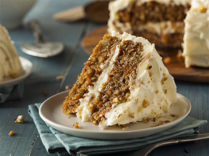 Receta Carrot cake vegano