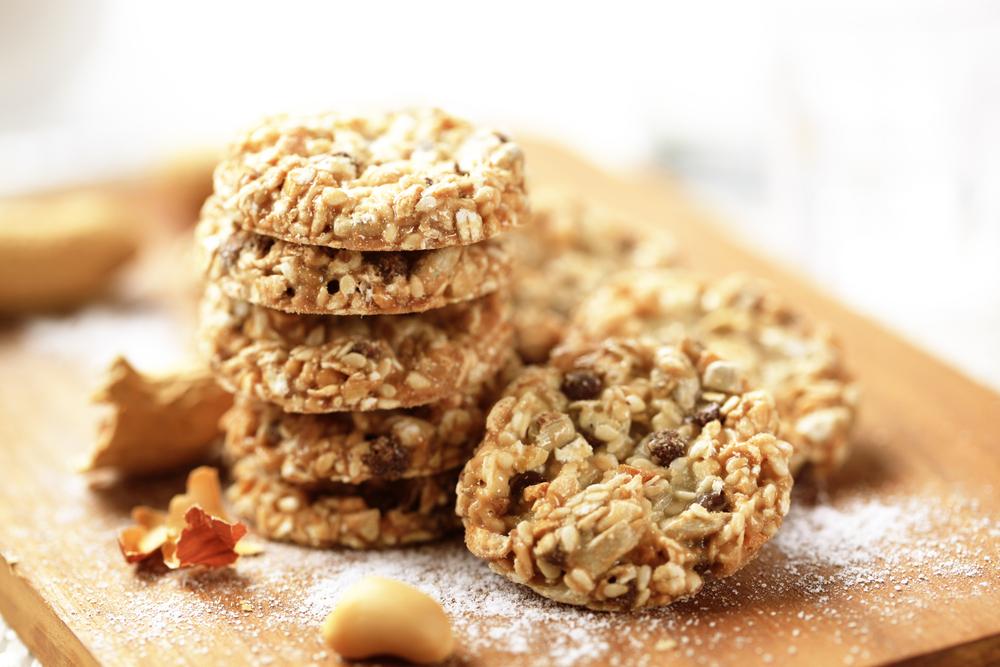 Cookies saciantes galletas de avena