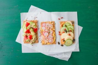 aperitivos ligeros canapés bajos en calorías Aperitivi leggeri