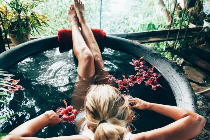 Il bagno, molto più terapeutico di quello che credi
