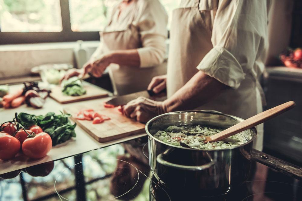 Creme e zuppe di verdure con un plus