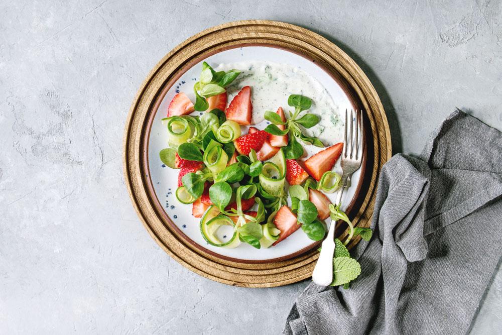 4 recetas de ensaladas, para chuparse los dedos