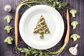 Cena de fin de año, de lujo y vegana