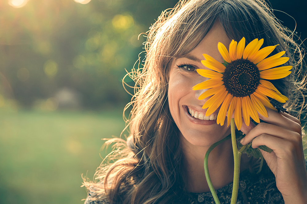 vivere felici con tutti e cinque i sensi