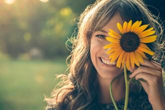 vivir feliz con los cinco sentidos