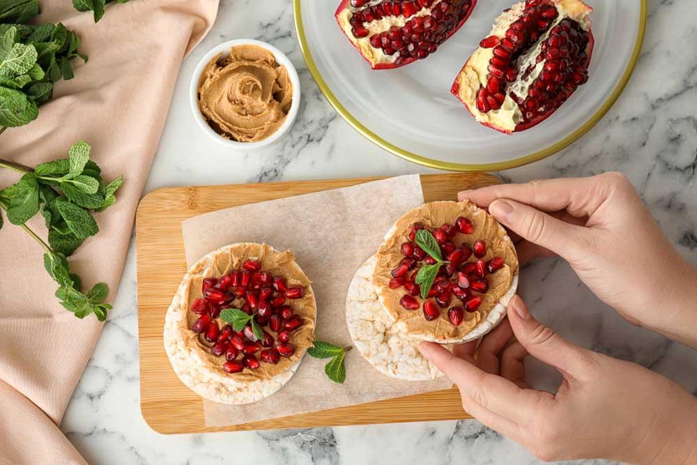 Tortitas de espelta con el sabor más natural