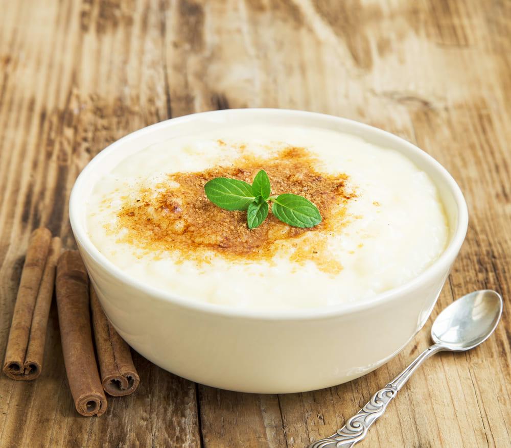 arroz con leche sin aúcar sin lactosa